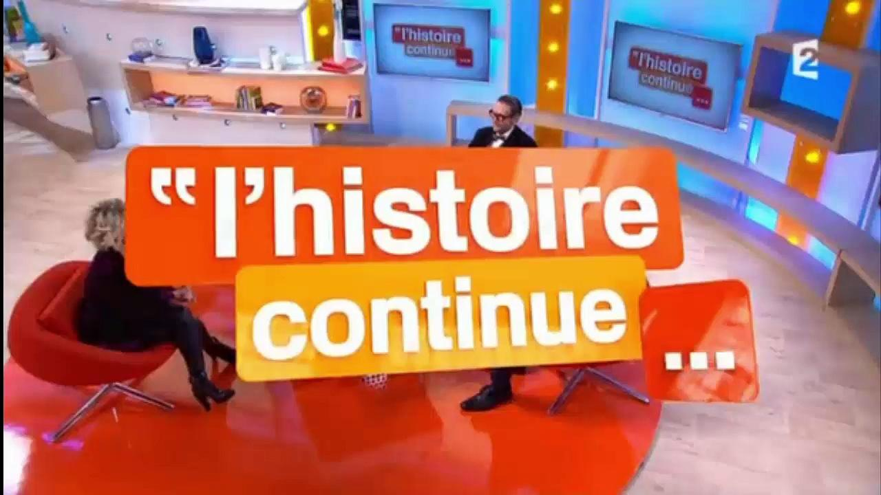 Bob Carpenter dans l'Histoire Continue France 2 - March 2016