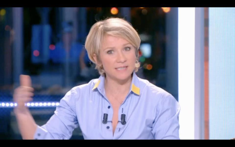 Bob Carpenter dans Ariane Massenet - Canal + - December 2012