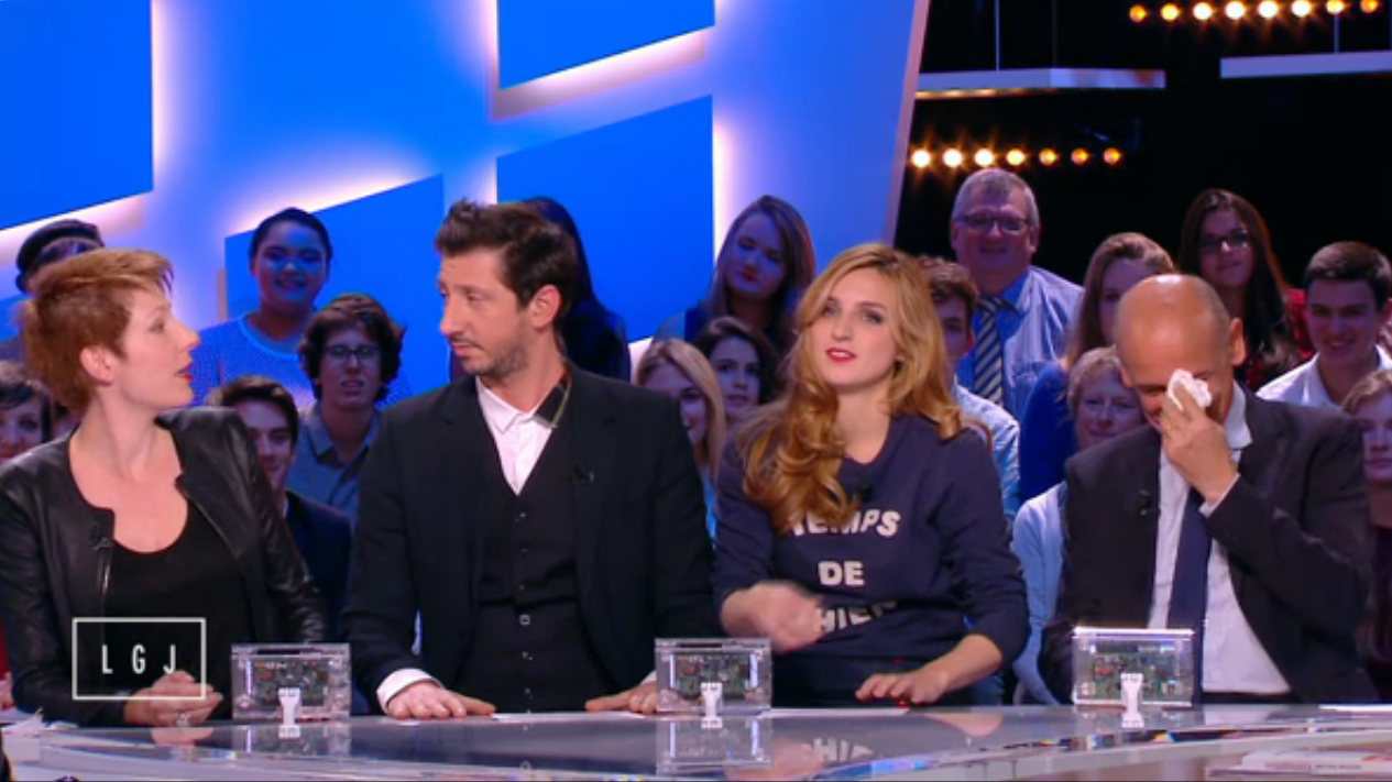 Bob Carpenter dans Le Grand Journal - October 2014