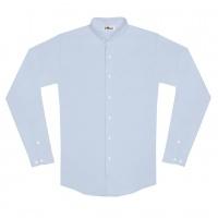 chemise unisexe Bob en Oxford Bleu