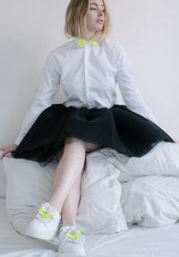 chemise unisexe Coffret Fluo Chemise + Franges