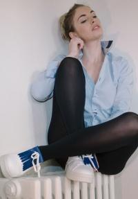 chemise unisexe Coffret Bleu Chemise + Franges