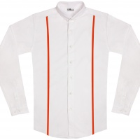 chemise unisexe Bob Bretelles Orange