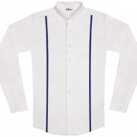 chemise unisexe Bob Bretelles Bleues