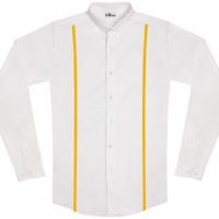 chemise unisexe Bob Bretelles Jaune