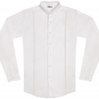 chemise unisexe Bob Bretelles Blanches