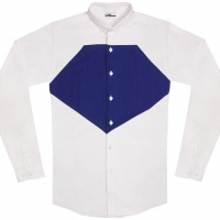 chemise unisexe Bob Diamant Bleu