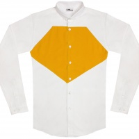 chemise unisexe Bob Diamant Jaune