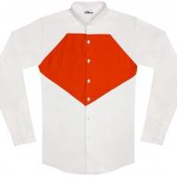 chemise unisexe Bob Diamant Orange