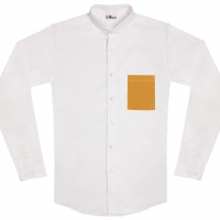 chemise unisexe Bob Poche Jaune
