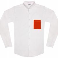 chemise unisexe Bob Poche Orange